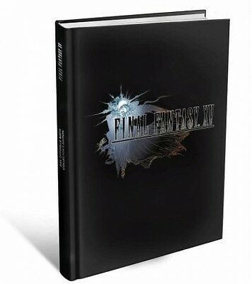 Final Fantasy XV - The official Solution Book (Collector's Edition) (Book) NEU