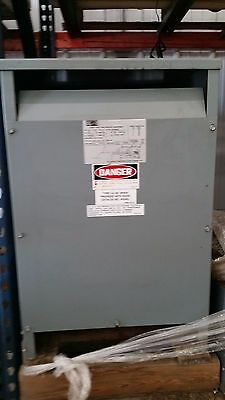 Square D Three Phase 40 KVA Insulated Transformer