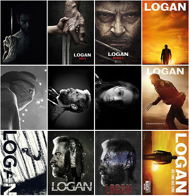 12pc Logan (2017) Postcards Promo Cards Photo Charactor Card Collector B