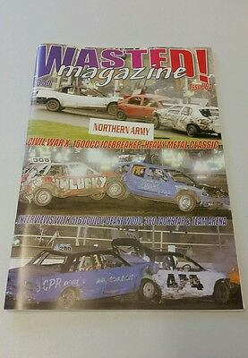 Wasted! Magazine.   Issue 64.  Banger Racing