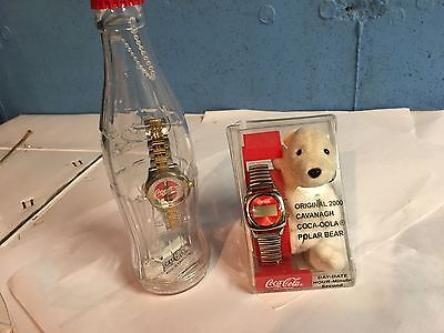Lot of 2 Coca-Cola Watches