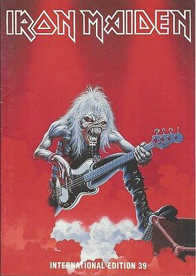Iron Maiden / 100% Official Fc Magazine No 39 / Fan Club / 1992