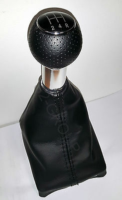 Audi A4 B6 B7 Gear Shift Stick Gaiter Knob 5 Speed Black New