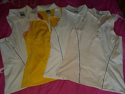 4x ladies Nike Golf vests size large