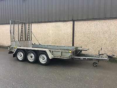 Used Ifor Williams GP126 Plant Trailer