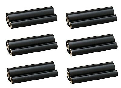 6 x Fax roll f. Brother PC-202RF 1010 1020 1025 1030 1270-1970 MFC1025 -1170