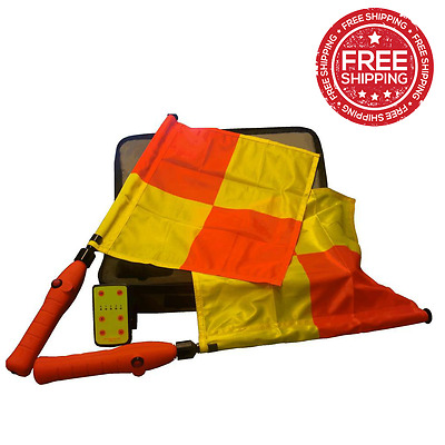 REFEREE Signal Bip Flags Rechargeable - EUROPEAN MODEL