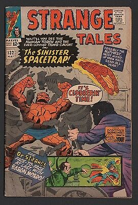 Strange Tales #132 VG- 3.5 Cream Pages