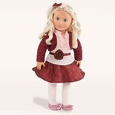 Our Generation Well Red 18 Inch Deluxe Doll Outfit