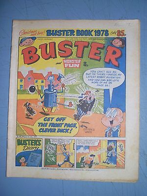 Buster issue dated December 10 1977