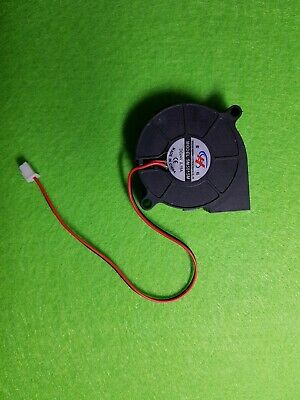 1X DC 24V 0.15A 5015  2 Pin Connector BrushlessTurbo Blower Cooling Fan