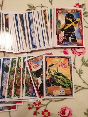 100s of LEGO NINJAGO trading Cards! 4 For £1! New Cards Added 18th Feb