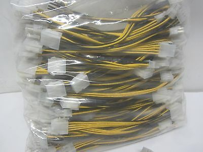 Lot 95 Kenable 8 Pin PCI Express PCIe Power Extension Cable Male to Female