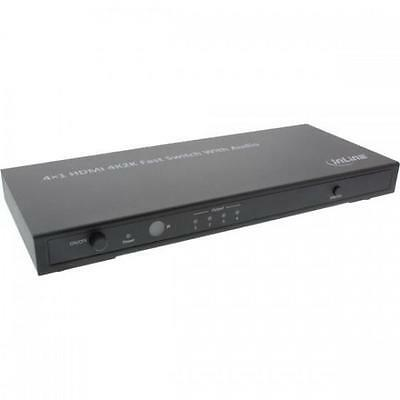 Inline Audi/video Splitter Hdmi, 4 Porte, 4Kx2K, Con Uscita Audio '