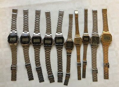 10 X Casio Men's Watches - Collection/Job Lot