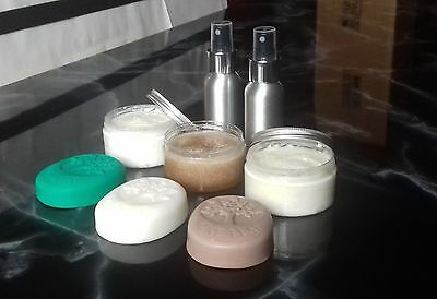 100%Natural Handmade Mens Soap Shave Cream Foam Face Body Scrub Balm Aftershave