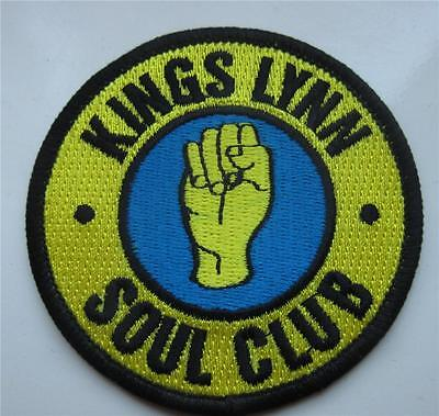 Northern Soul Patch - Rare Collectable Soul Club Patch No. 2