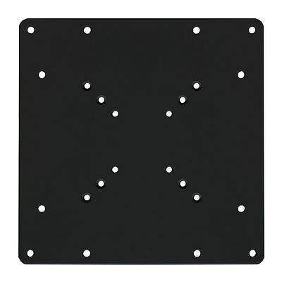 TV VESA ADAPTER PLATE 200x200 UP TO 200MM x 200MM LCD LED PLASMA BRACKET BLACK