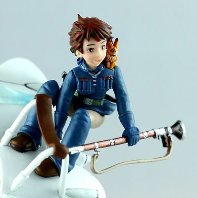 JAPAN GHIBLI Movie Nausicaä of the Valley of the Wind Scene Figure NEW