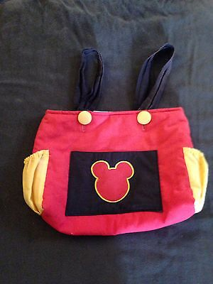 Custom Resell Disney Mickey Mouse Stroller Tote Bag