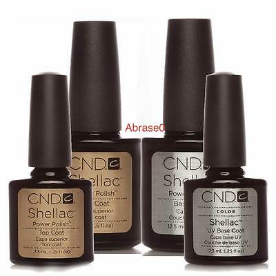 CND Shellac Nail Polish Choose Top, Base Coat, Xpress5 7.3ml & 15Ml UK & Europe
