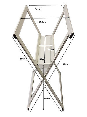 Folding A1 Print Storage Rack Print Browser - Display & Store Artwork and Prints
