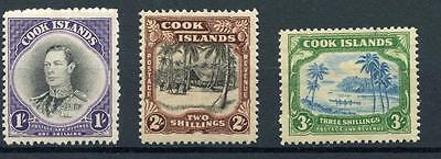 Cook Islands 1938 MM set SG127/9
