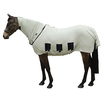 60% OFF Snuggy Hoods Bug Body Horse Fly Rug - Beige - Sweet Itch Protection! 4'9