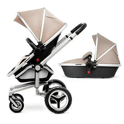 Silver Cross Surf 2 Surf2 Sand Including Carrycot & Pushchair New Display
