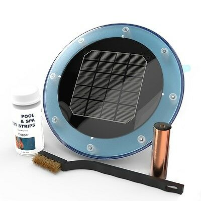 Dunner Solar Ionizer for Pools up to 22,000 gal. Automatic Cleaning Algae
