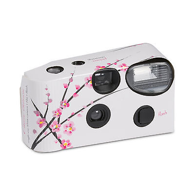Cherry Blossom Design Disposable Camera Favour Party Accessory Pack of 5