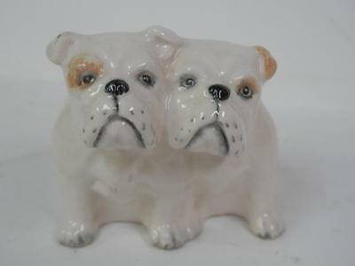 Vintage Beswick Bulldogs Two Double Figure English Bulldog