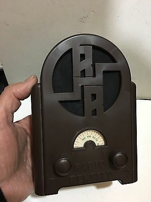 VINTAGE NOVELTY NOSTALGIC RADIO AM(MW)-BAND FROM THE 1970s- 1980s WITH BOX