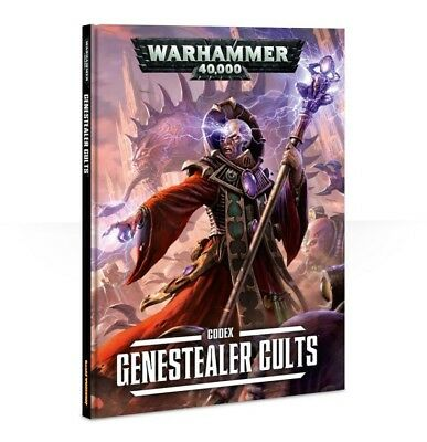 Genestealer Cults Codex (Deutsch) Games Workshop Warhammer Hardcover Tyraniden