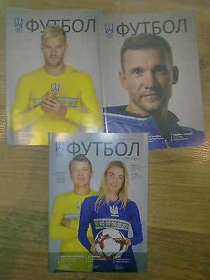 Ukraine national team programme (see list) 2006-2016