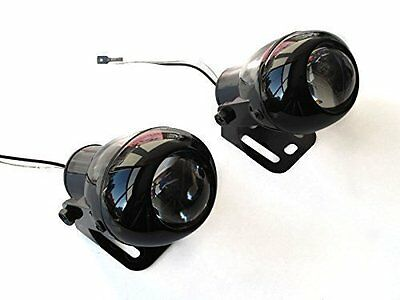 Universal Aluminium Projector Fog Lights For Motorbike Motorcycle Quad Trike - /
