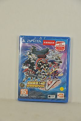 PSV PS Vita Super Robot Taisen War Wars 5 V 超級機械人大戰 (HK CHINESE 中文) + BONUS+ DLC