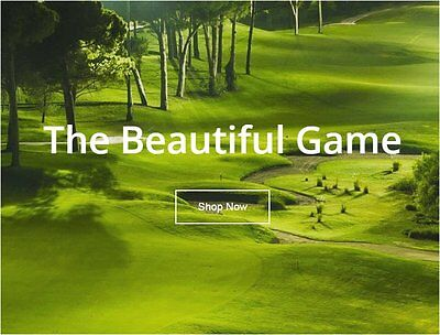GOLF PRODUCTS Website Earn £2715.00 A SALE|FREE Domain|FREE Hosting|FREE Traffic