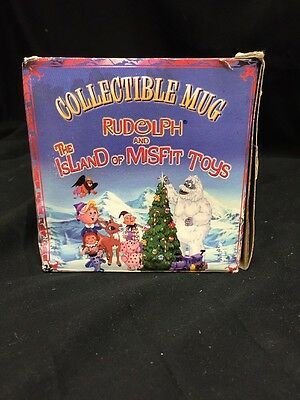Rudolph And The Island Of Misfit Toys Collectible Mug