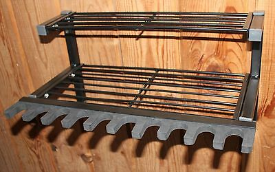 Hyskore 10 Gun Rack & Shelf Rifle Shotgun Ammo Shooting Gear Storage Organizer