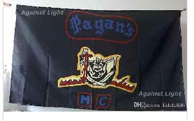 Pagans Motorcycle club Flag 3 by 5