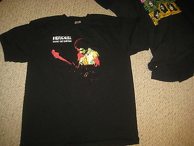 JIMI HENDRIX Band of Gypsys    - Rock T-shirt   XL    (one of many i am selling)