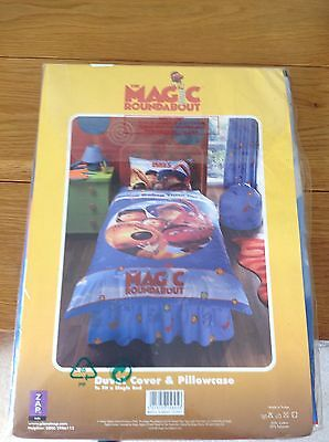 Magic Roundabout Duvet Set Single BNIP.REDUCED TO CLEAR.