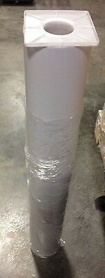 """Leather texture Cold laminate film protects enhance photos & sign 48"""" x150' 4mil"""