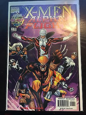 X-Men Alpha Flight (1998) $2.99 CP Limited Series #1 VF Very Fine Marvel Comics