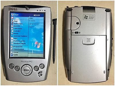 Dell Axim X5 Pocket Pc Palmare Touch Intel 300MHz Windows Mobile Funzionante