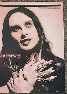 CRADLE OF FILTH - 1998 full page UK magazine poster