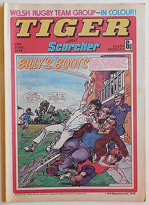 TIGER & SCORCHER Comic - 19th June 1976