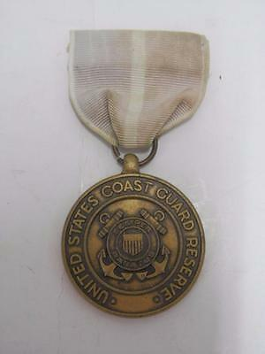 Vintage USA Coast Guard Good Conduct Medal & Ribbon United States America