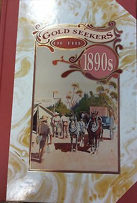 1992 'Gold Seekers of the 1890's' Australia Post Booklet